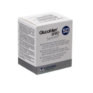 GlucoMen Areo glucose teststrips 50st - A.Menarini diagnostics